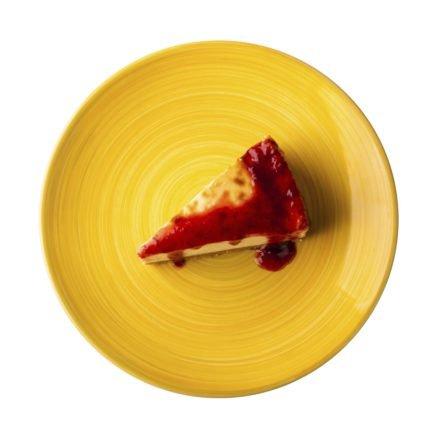 Чізкейк з ягідним соусом