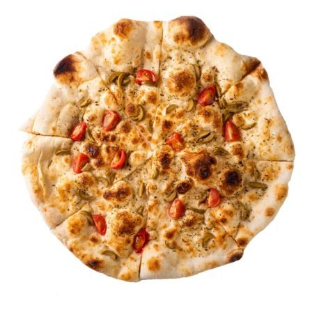 Фокачча с оливками помидорами и ореганов Monkey Pizza