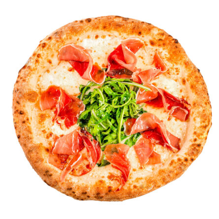 Піца вершкова з прошутто